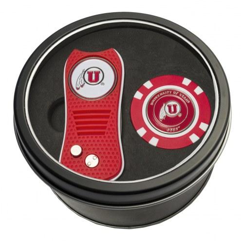 Utah Utes Switchfix Golf Divot Tool & Chip