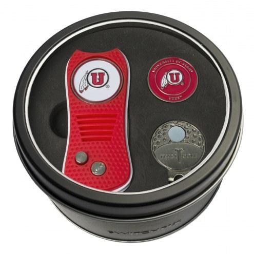 Utah Utes Switchfix Golf Divot Tool, Hat Clip, & Ball Marker