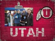 Utah Utes Team Name Clip Frame