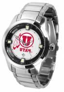 Utah Utes Titan Steel Men's Watch