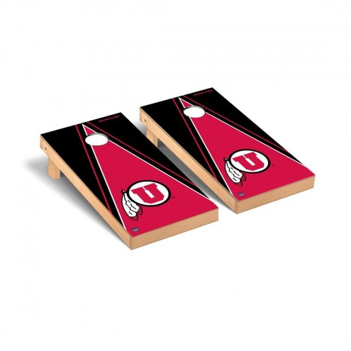 Utah Utes Triangle Cornhole Game Set