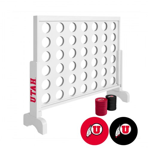 Utah Utes Victory Connect 4