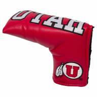 Utah Utes Vintage Golf Blade Putter Cover