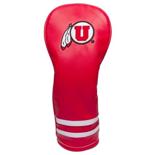 Utah Utes Vintage Golf Fairway Headcover