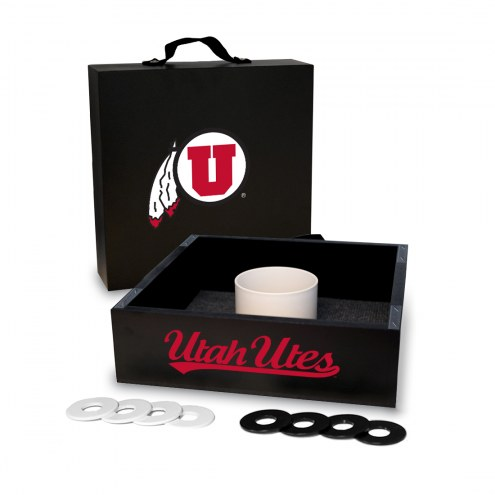 Utah Utes Washer Toss Game Set