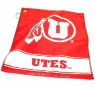 Utah Utes Woven Golf Towel