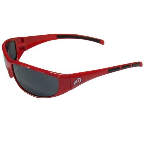Utah Utes Wrap Sunglasses