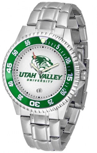 Utah Valley Wolverines Competitor Steel Men's Watch