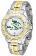 Utah Valley Wolverines Competitor Two-Tone Men's Watch