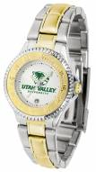 Utah Valley Wolverines Competitor Two-Tone Women's Watch