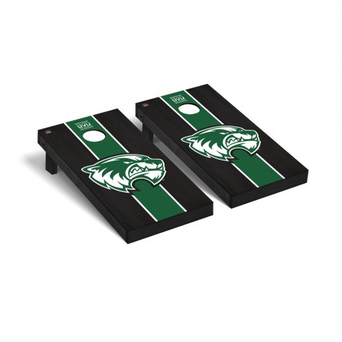 Utah Valley Wolverines Onyx Stained Cornhole Game Set