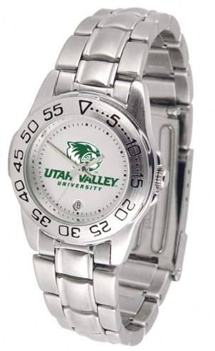Utah Valley Wolverines Sport Steel Women's Watch
