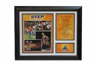 "UTEP Miners 12"" x 18"" Photo Stat Frame"