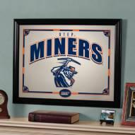 "UTEP Miners 23"" x 18"" Mirror"