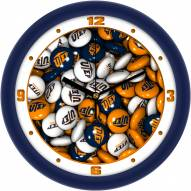 UTEP Miners Candy Wall Clock