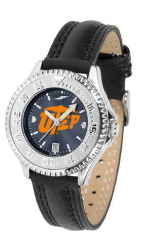 UTEP Miners Competitor AnoChrome Women's Watch