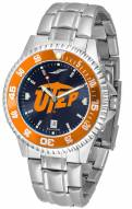 UTEP Miners Competitor Steel AnoChrome Color Bezel Men's Watch