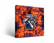UTEP Miners Fight Song Canvas Wall Art