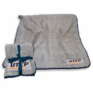 UTEP Miners Frosty Fleece Blanket