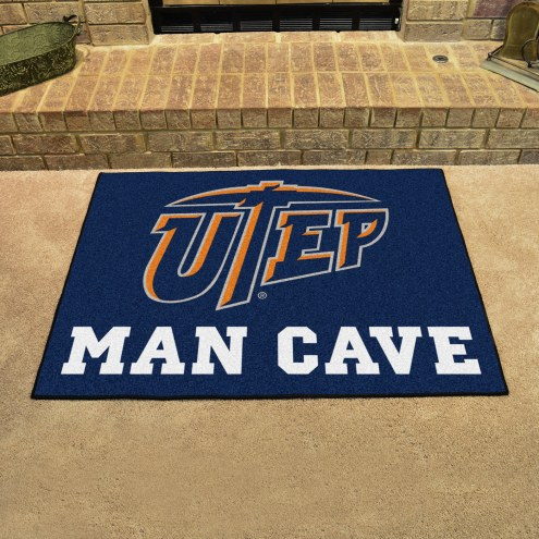 UTEP Miners Man Cave All-Star Rug