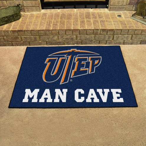 UTEP Miners Man Cave Starter Mat