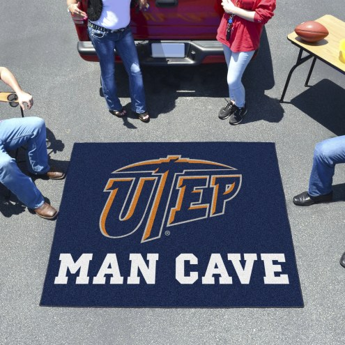 UTEP Miners Man Cave Tailgate Mat