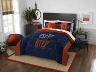 UTEP Miners Modern Take Full/Queen Comforter Set