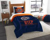 UTEP Miners Modern Take Twin Comforter Set