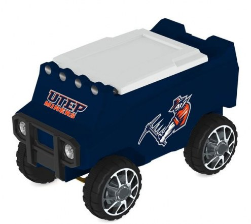 UTEP Miners Remote Control Rover Cooler