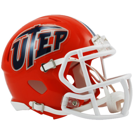 UTEP Miners Riddell Speed Mini Collectible Football Helmet