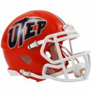 UTEP Miners Riddell Speed Mini Collectible Football Helmet