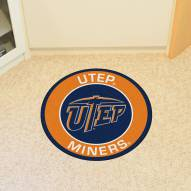 UTEP Miners Rounded Mat