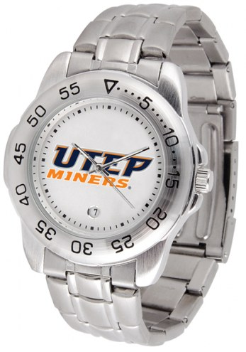 UTEP Miners Sport Steel Men's Watch