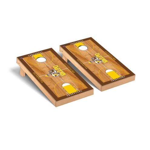 Valparaiso Crusaders Basketball Court Cornhole Game Set