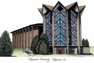 Valparaiso Crusaders Campus Images Lithograph