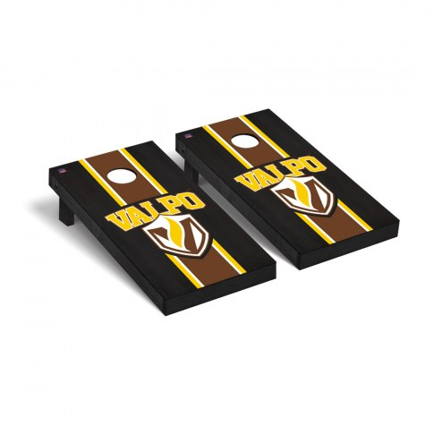 Valparaiso Crusaders Onyx Stained Cornhole Game Set