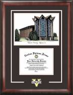 Valparaiso Crusaders Spirit Diploma Frame with Campus Image