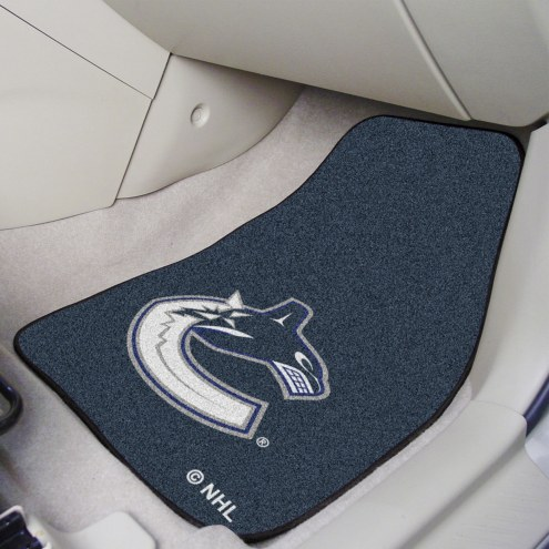 Vancouver Canucks 2-Piece Carpet Car Mats