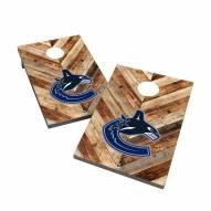 Vancouver Canucks 2' x 3' Cornhole Bag Toss