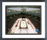 Vancouver Canucks 2014 NHL Heritage Classic Framed Photo