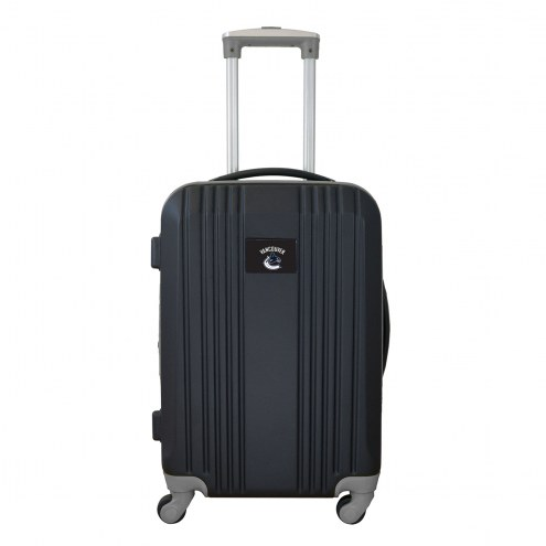"""Vancouver Canucks 21"""" Hardcase Luggage Carry-on Spinner"""