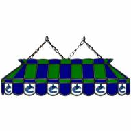 """Vancouver Canucks 40"""" Stained Glass Billiard Lamp"""