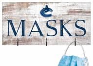"Vancouver Canucks 6"" x 12"" Mask Holder"
