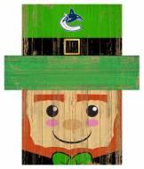 "Vancouver Canucks 6"" x 5"" Leprechaun Head"