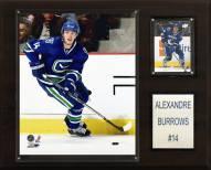 "Vancouver Canucks Alex Burrows 12"" x 15"" Player Plaque"