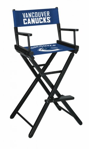 Vancouver Canucks Bar Height Director's Chair