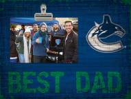 Vancouver Canucks Best Dad Clip Frame