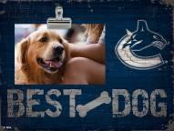 Vancouver Canucks Best Dog Clip Frame