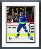 Vancouver Canucks Bo Horvat 1st NHL Goal Framed Photo