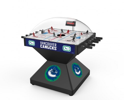 Vancouver Canucks Deluxe Bubble Hockey